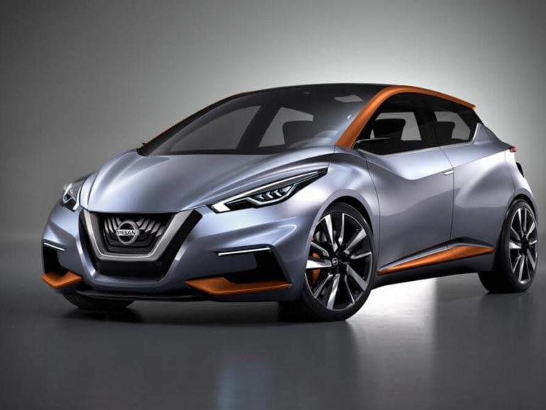 Сайт-презентация автомобиля Nissan Micra