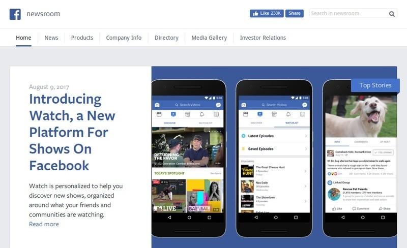 Facebook Newsroom