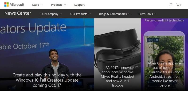 Microsoft News Center