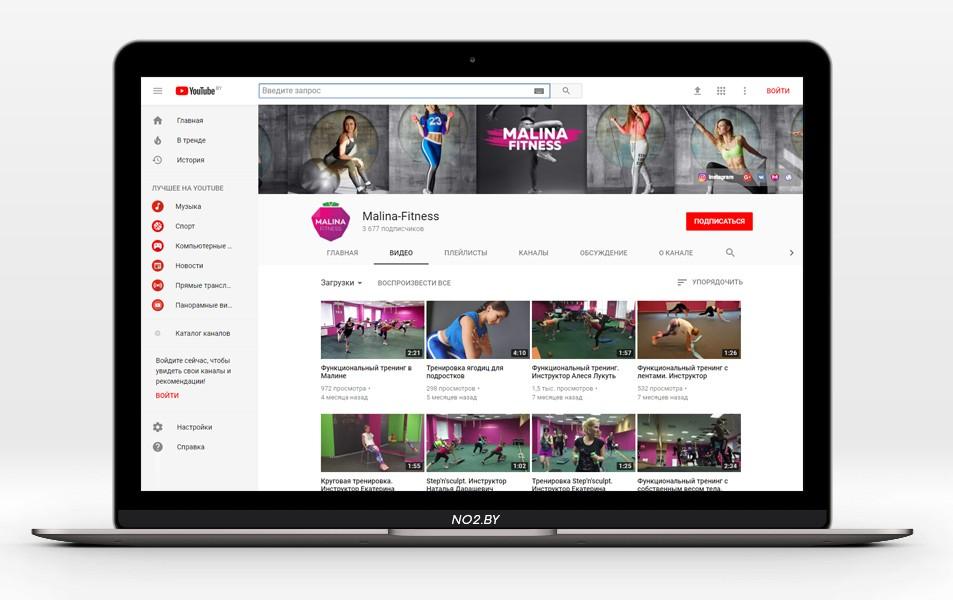 Размеры изображений в YouTube