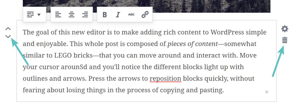 визуальный редактор Gutenberg для WordPress