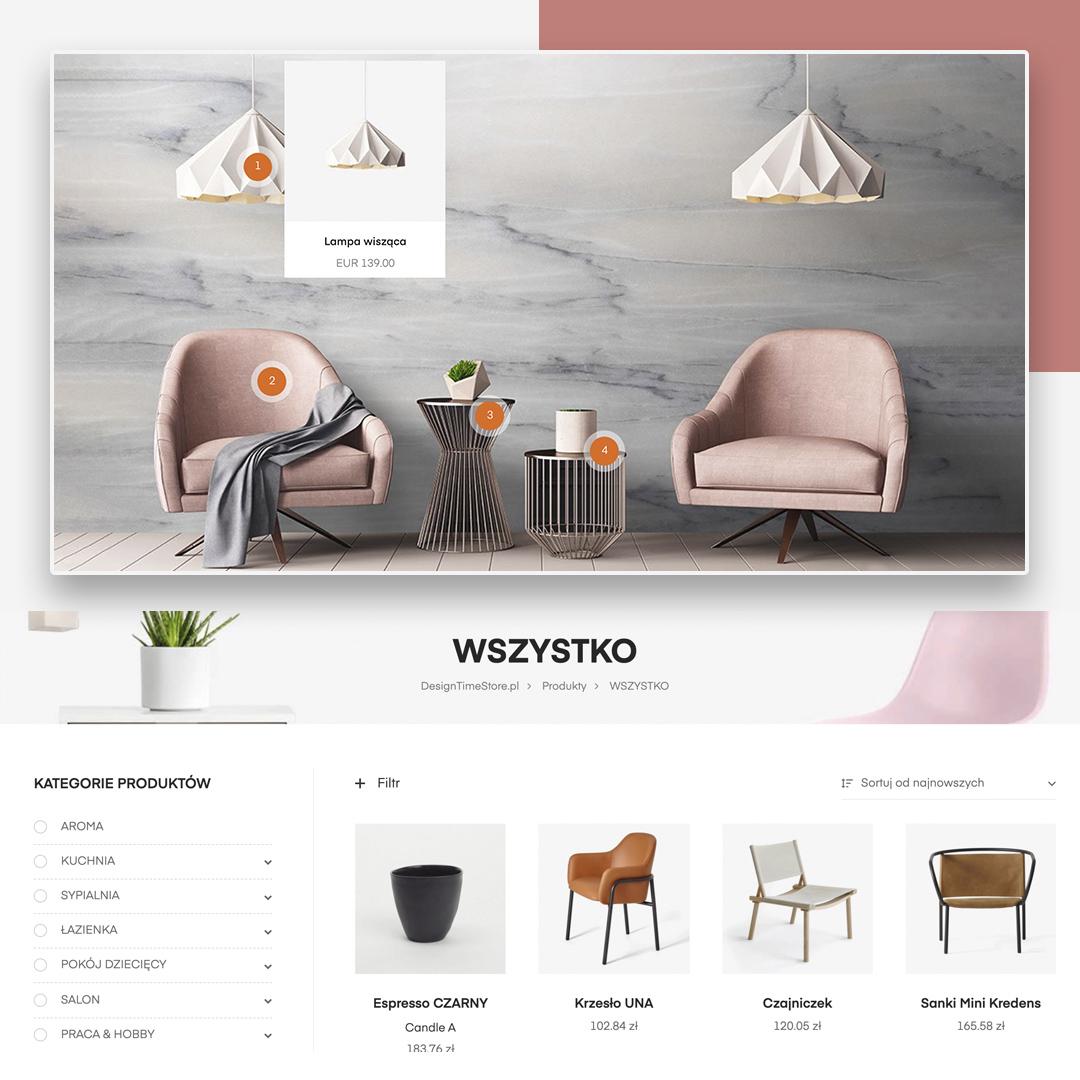 Создание мебельного магазина на WordPress